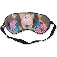 Sleep Eye Mask Oil Chimpanzee Lightweight Soft Blindfold Adjustable Head Strap Eyeshade Travel Eyepatch E10 preisvergleich bei billige-tabletten.eu