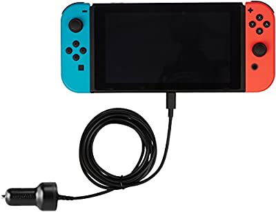 AmazonBasics Car Charger for Nintendo Switch