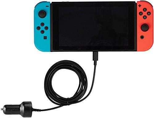 AmazonBasics - Caricatore da auto per Nintendo Switch