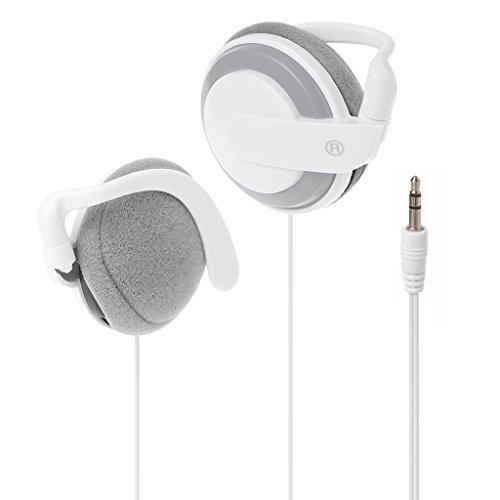 Fogun universale 3.5mm jack stereo orecchio ganci cuffie spotrs auricolari per samsung