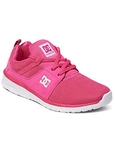 DC Shoes Heathrow, Sneakers Basses Femme Rouge - Raspberry