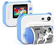 كاميرا إيدر لايف الفورية للأطفال، كاميرا وفيديو مطبوعة رقمية للأطفال