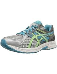 Zapato para correr Gel-cont¨¦ 3 femenino, plata / pistacho / verde azulado, 6 m US