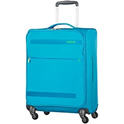 American Tourister Herolite - Super Light Spinner 55-20 - 1.5 Kg Koffer, 55 cm, 42 L, Mighty Blue