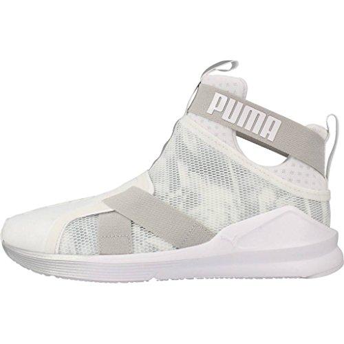 Puma Fierce Strap Swan 18946101, Turnschuhe weiß / silber