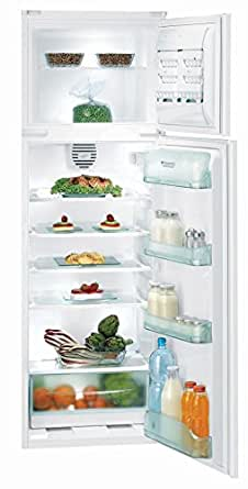 Hotpoint BD 2922 EU/HA Intégré 200L 51L A+ Blanc réfrigérateur-congélateur - réfrigérateurs-congélateurs (Intégré, Placé en haut, A+, Blanc, N-T, 4*)