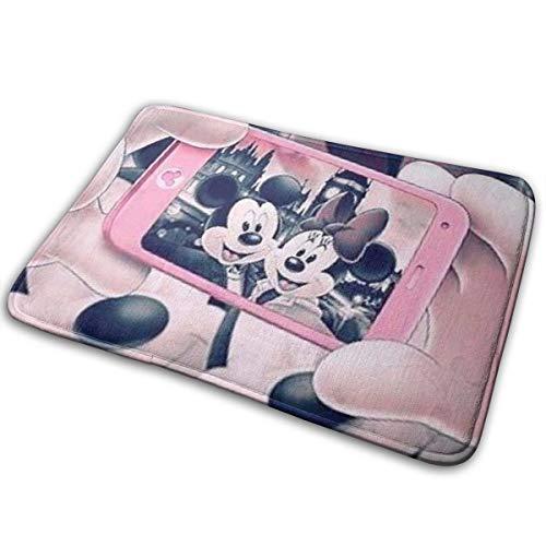 Greatbe Bienvenido Alfombra Puerta Mickey Mouse Minnie