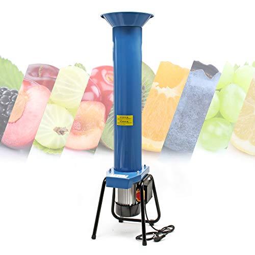 WilTec Obsthäcksler aus Stahl, 1100W 1,5 PS 2800U/min, bis zu 1000 kg pro Stunde, Kernobstschneidemühle
