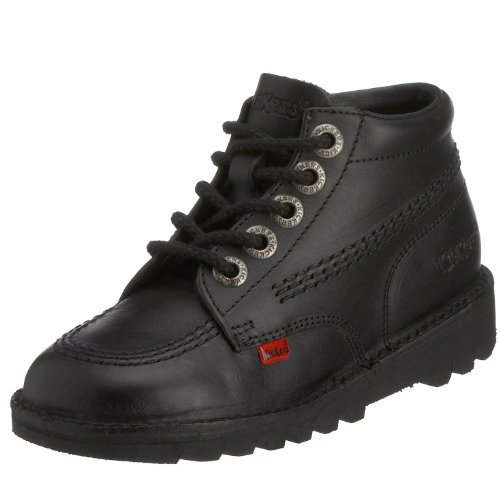 Kickers Kids (Infants) Kick Hi I Core Boot - Black Leather Kids...