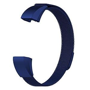 Chofit Fitbit Ace Fitness Kinder Armband Kinder 8und bis Edelstahl Milanaise Loop Ersatz für Fitbit Ace Fitness Tracker