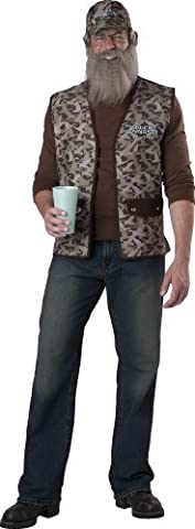 Dynastie De Duck Duck Costume - Duck Dynasty Uncle Si Costume by