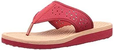 BATA Women's SUNDROP Red Slippers-8 UK (41 EU) (5715839)