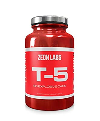 Zeon Labs T5 extreme fat burner (60 Capsules) | Original T5 Fat Burners | UK Manufactured | Best Slimming Diet Pills Super Strong | T5s Weight Loss Tablets | For Men & Women (60 Capsules) from Suppleform