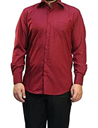 Muga chemise manches longues, Bordeaux