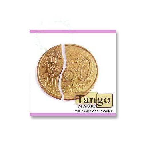 Tango-Folding-Coin-internal-system-50-cents-Euro-with-Tangopedia-four-hours-tutorial-video-Magie-mit-Tuch-Zaubertricks-und-Magie SOLOMAGIA Tango Folding Coin (internal System) 50 Cents Euro – with Tangopedia Four-Hours Tutorial Video – Magie mit Tuch – Zaubertricks und Magie -