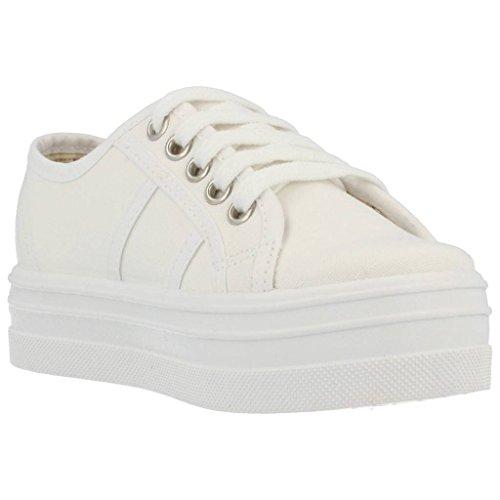 Victoria - Blucher Lona, Stivali  da donna Bianco