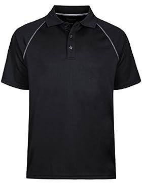 Moheen Herren Poloshirt/ Funktionsshirt in Übergrößen S bis 5XL - für Sport Freizeit und Arbeit