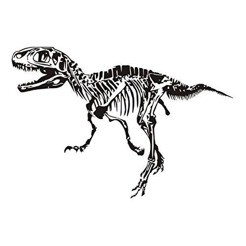 Jungen zimmer kunstwand wandtattoo dinosaurier fossil wandaufkleber special design bettwäsche dekor vinyl wasserdicht muster 42x62 cm (Schmetterling Flecken Bettwäsche)