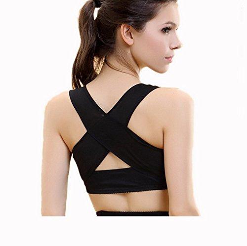 ACME Damen Einstellbare Geradehalter zur Haltungskorrektur Haltungsbandage Geradehalter BH Push Up Stütz (Haltung Stütz-bh Rücken)
