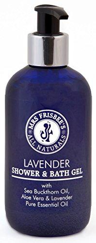 Lavender Shower & Bath Gel with Sea Buckthorn Oil & Aloe Vera, 250ml