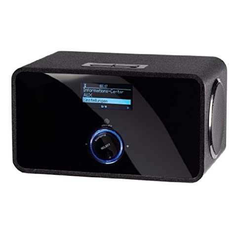 Hama IR200 Wireless LAN Internet-Radio (10 Watt) schwarz