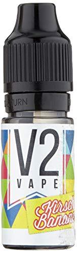 V2 Vape KiBa Kirsch-Banane AROMA / Konzentrat für E-Liquid 0mg nikotinfrei - 10ml