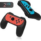 innoGadgets Joy-Con Halterung [2X] für Nintendo Switch Controller | Joy Con Grip | Komfortables Gamepad | Aufsätze mit ergonomischem Design und Griff
