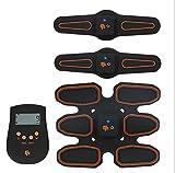 ZGZXD-Bauchmuskel-Toner, EMS-Bauchmuskeltrainer-Stimulator-Körpergürtel ab Sportgeräte-Familie oder Büro