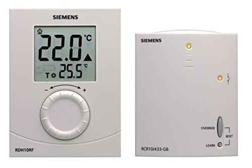 Siemens rdh10rf habitaci n termostato digital for Termostato digital siemens rdh10