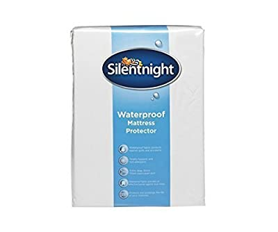 Silentnight Waterproof Mattress Protector produced by Silentnight - quick delivery from UK.