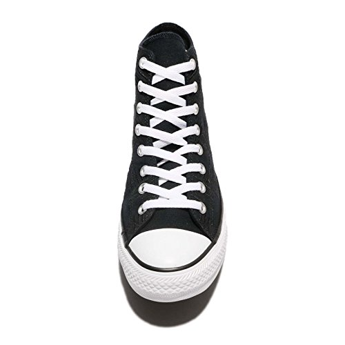 Converse Femmes Chuck Taylor All Star Salut Toile Trainers Noir