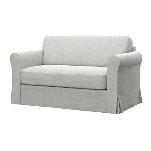 Soferia - IKEA HAGALUND Funda para sofá Cama, Classic Creme