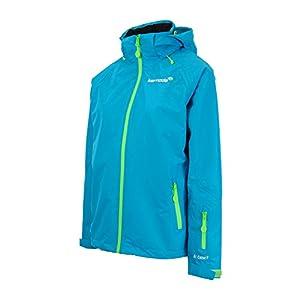411n8D4lToL. SS300  - Kernoda Womens Waterproof Windproof Outdoor Mountain Jacket 2 Layer Shell Lined, Kleja - Pacific