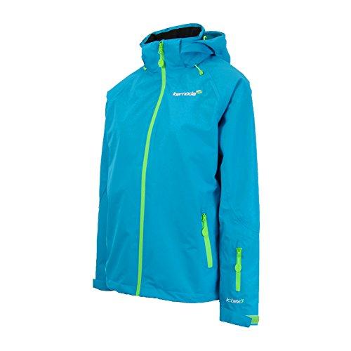 Kernoda Womens Waterproof Windproof Outdoor Mountain Jacket 2 Layer Shell Lined, Kleja – Pacific