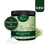 Inulina Orgánica Vegavero | 450 g en Polvo | Con CALCIO + MAGNESIO |...