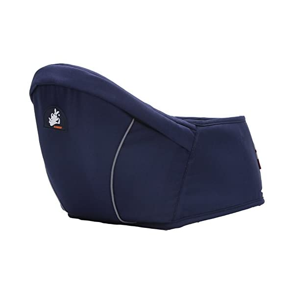Per Fashional and Comfortable Baby Hip Seat Carrier Adjustable 0-3 Years Old Baby Carrier Baby Straps (Dark Blue) Per ✤ Soft Lining:Made of sponge lining, very comfortable for baby to sit and for mom to wear. ✤ Widen Design:The wide of the seat is about 6.3inch, baby will be more comfortable and meanwhile, mom can use less power. ✤ Adjustable Length: The length of the waistline is about 65-118cm/25.59-46.45in. 1