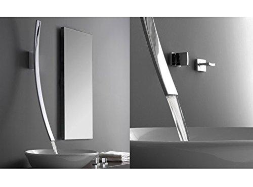 Wasserhähne Waschbecken Graff Luna Auslauf mit Armaturen Wand 2294300