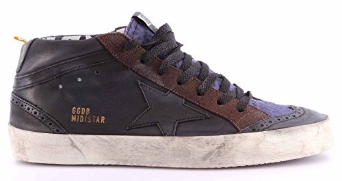 scarpe-sneakers-uomo-golden-goose-g26u634c8-dark-grey-wall-mid-star-italy-nuove