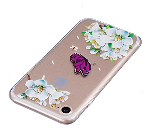 Meet de Slim de Protection Téléphone Case pour iphone 5S /iphone SE, iphone 5S /iphone SE Bumper Case Coque, (motifs peints) iphone 5S /iphone SE Slim TPU Transparent Silicone Housse Etui pour iphone  HX1-A11
