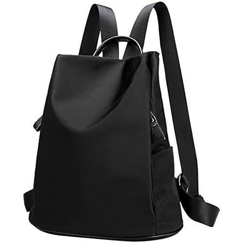 bolsos para el dia de la madre Coofit Mochilas Escolares de Mujer Ligero Impermeable Nylon mochila casual