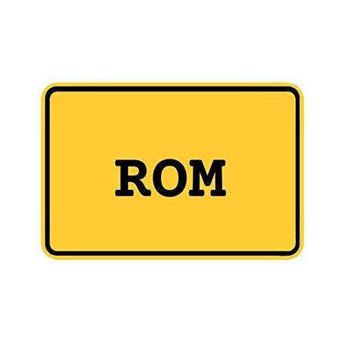 Preisvergleich Produktbild JOllify Aufkleber - ROM – Farbe: Design: Ortsschild
