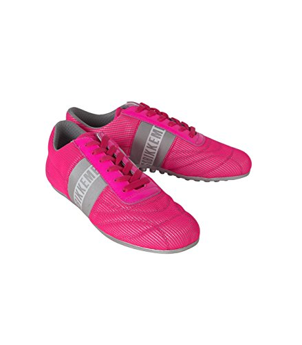 BIKKEMBERGS, Sneaker donna fuxia/grey 44