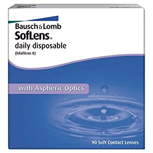 Bausch & Lomb SofLens daily disposable Tageslinsen weich, 30 Stück