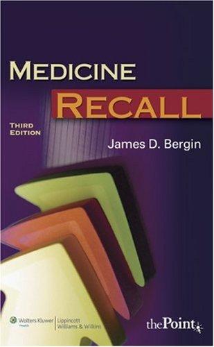 Pdf Medicine Recall Recall Series Read Online By James D Bergin