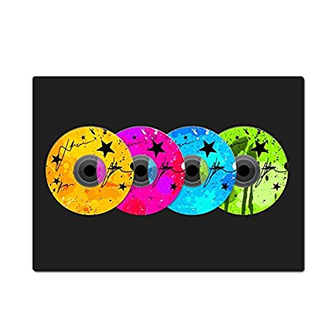 Thwo DJ disc Music Mouse Pads 9.84