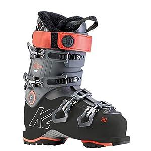 K2 Skis BFC W 90 Chaussures de Ski pour Femme 40 Anthracite, Rouge Corail.