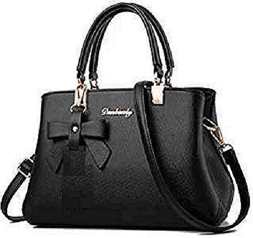 Vintage Stylish Ladies Handbag-Sling Bag- Cross Body Bag- Cream(A-19) (BLACK)