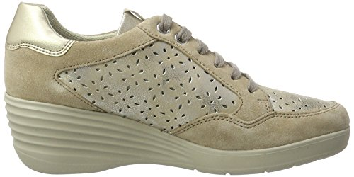 Stonefly Ebony 22, Sneakers Basses Femme Beige (Desert 221)