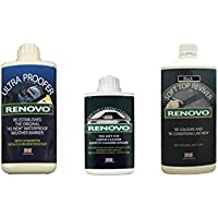 Renovo REN-KIT1 Triple Cleaning Kit includes Soft Top Revivier/ Soft Top Ultra Proofer/ Soft Top Canvas Cleaner, Black preiswert