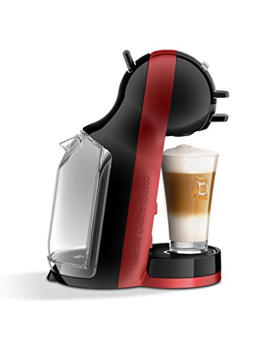 Krups KP120H10 Independiente Totalmente automática - Cafetera (Independiente, Cafetera combinada, 0,8 L, Cápsula de café, Negro, Cereza)